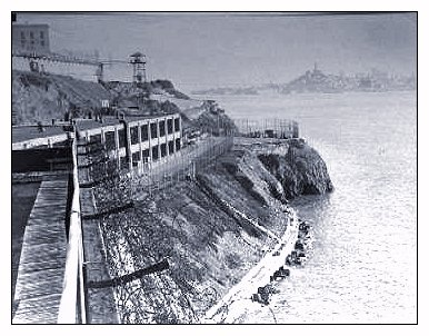 The Industries Area - Alcatraz Island - GGNRA
