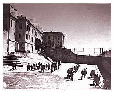 The Yard - Alcatraz Island - GGNRA